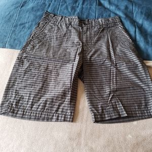 Hurley Porter Walkshort Shorts Black & Gray